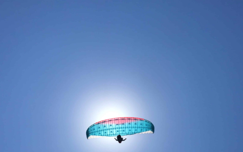 Paragliding Reserve Parachute Research